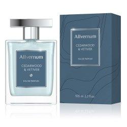 Cedarwood & Vetiver, Allvernum Eau de Parfum for Men, 100ml