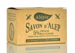 Alep Soap 5% Laurel Oil, 190g
