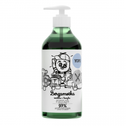 Bergamot, Verbena, Basil Dishwashing Liquid, Yope, 750 ml