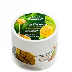Moisturizing Body Butter Energy of Vitamins Argan Oil & Mango
