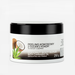 Peeling do Ciała Kokosowy, 250 ml, India Cosmetics