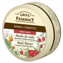 Masło do Ciała Żurawina i Malina Moroszka, Green Pharmacy