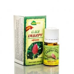 Olejek Imbirowy, 100% Naturalny