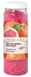 Sól do Kąpieli Grejpfrut & Rozmaryn, Fresh Juice, 700g