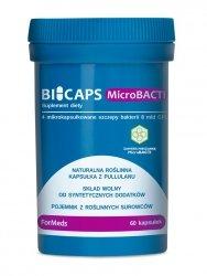 BICAPS MicroBACTI, 60 kapsułek, ForMeds, Probiotyk