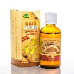 Olej z Nasion Gorczycy, Musztardowy, 50 ml