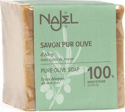 Mydło 100% Oliwkowe Aleppo Pure Olive Najel, 200g