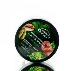 Peeling do Ciała Solny Modelujący Energy of Vitamins, Olej Pistacjowy i Zielona kawa