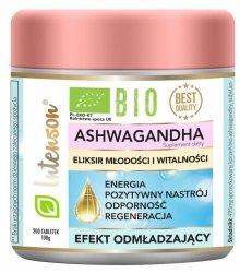 BIO Ashwagandha, Intenson, 200 tabletek