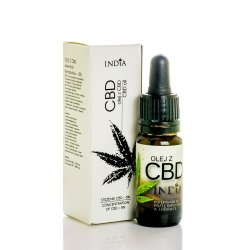 Olej z CBD 5% 10ml, India Cosmetics