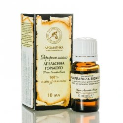 Olejek z Pomarańczy Gorzkiej, Pomarańczowy,  100 % Naturalny