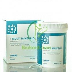 F- MULTI MINERALS Formeds, Kompleks Minerałów, 30 porcji