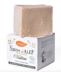 Mydło Aleppo Oliwkowe Excellence TRADITION Bio z Olejem Laurowym 1%