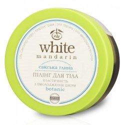Organiczny Peeling do Ciała Ziołowo Olejowy z Glinką, White Mandarin