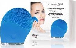 Szczoteczka Soniczna do Oczyszczania Twarzy NIEBIESKA, Dermofuture
