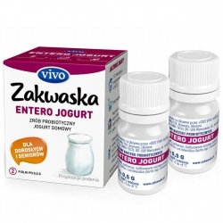 Zakwaska Entero do Jogurtu Vivo, 2 fiolki po 0,5 g