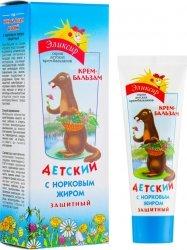 Krem Ochronny dla Dzieci z Tłuszczem Norki, 75 ml Eliksir