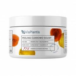 Peeling Cukrowo - Solny Ekstrakt z Liczi i Olej Macadamia Vis Plantis