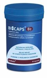 BICAPS B2, Ryboflawina 40g, Formeds, 60 kapsułek