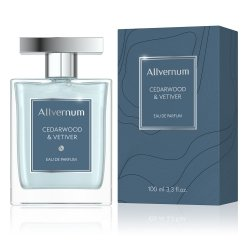 Woda Perfumowana Męska, Cedarwood & Vetiver, Allvernum