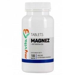 Magnez 450 mg + witamina B6, MyVita