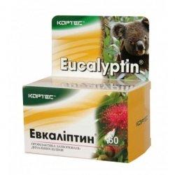 Wyciąg z Eukaliptusa, Eucalyptin, 60 tab., Pasożyty, Gronkowiec