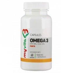 Omega-3 Forte + Witamina E, MyVita, Suplement Diety