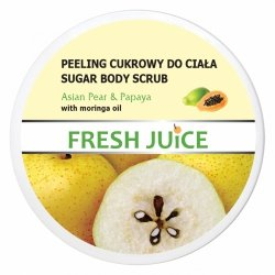 Gruszka i Papaja Asian Pear & Papaya Peeling Cukrowy do Ciała, Fresh Juice