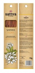 Kadzidełka Naturalne Plumeria Sathyaflora Sattva Incense, 30g