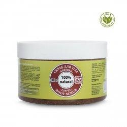 Peeling do Ciała Cukrowy Kawowy, 300 g 100% Naturalny
