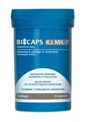 ForMeds Bicaps K2 MK-7, 30 kapsułek Suplement Diety