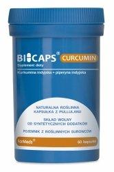 BICAPS CURCUMIN Formeds, 60 kapsułek, Kurkumina