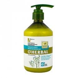 Odżywka do Włosów Suchych i Zniszczonych z Ekstraktem z Lnu, O'Herbal