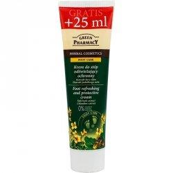 Крем для ног дезодорирующий противогрибковый,  Зеленая Аптека