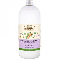 Крем-пена для ванн Аргановое Масло и Инжир, Зеленая аптека