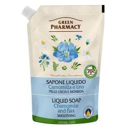 Жидкое мыло Ромашка Дой-пак, Зеленая аптека