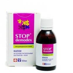 Stop demodex (Стоп демодекс) капли 50мл диетическая добавка