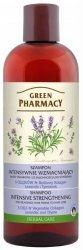 Шампунь интенсивно укрепляющий с лавандой и тимьяном, Зеленая аптека