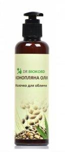 Mleczko do Oczyszczania Twarzy z Olejem Konopnym, Dr.Biokord 200ml