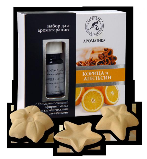 Aromatherapy Set Cinnamon & Orange