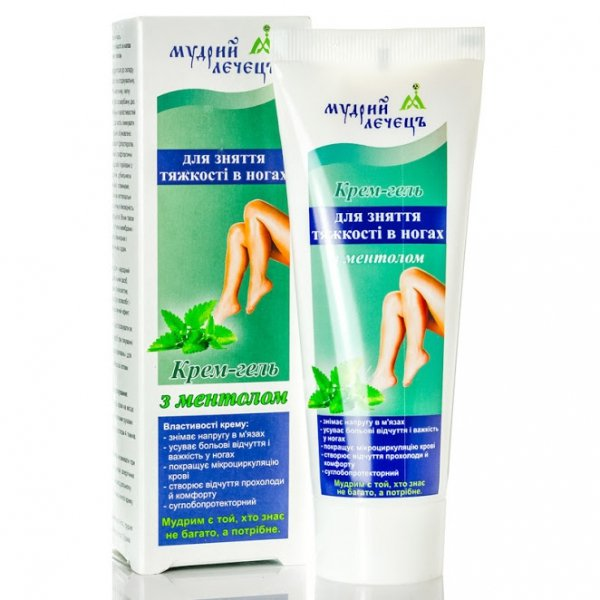 Cooling Gel Cream for Heavy and Tired Legs