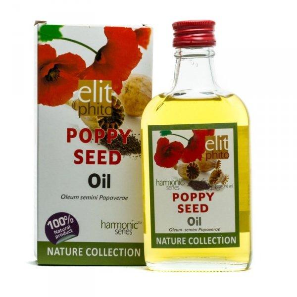 Olej z Nasion Maku (Makowy), 100% Naturalny, Elit Phito