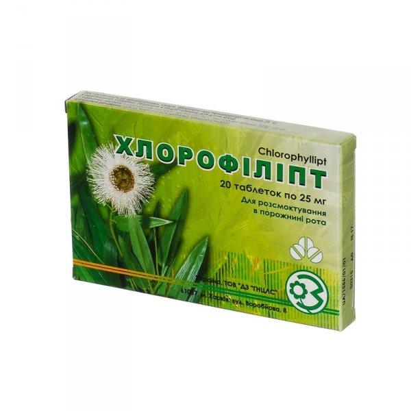 Chlorofillipt, Chlorophyllipt, 40 tbl