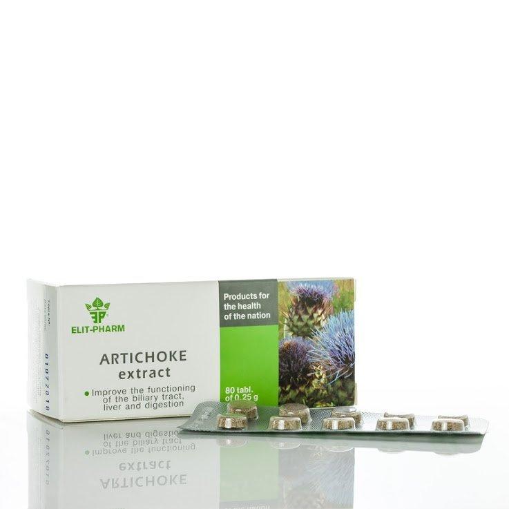 Artichoke Extract, 80 tablets