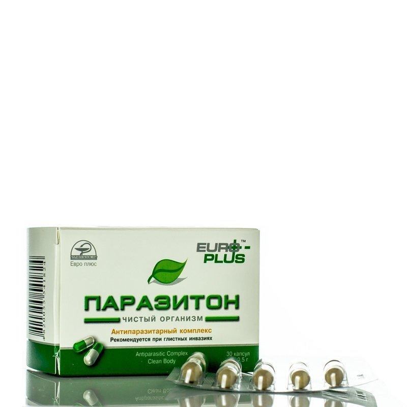 Antiparasite Complex Parasiton, 30 caps.