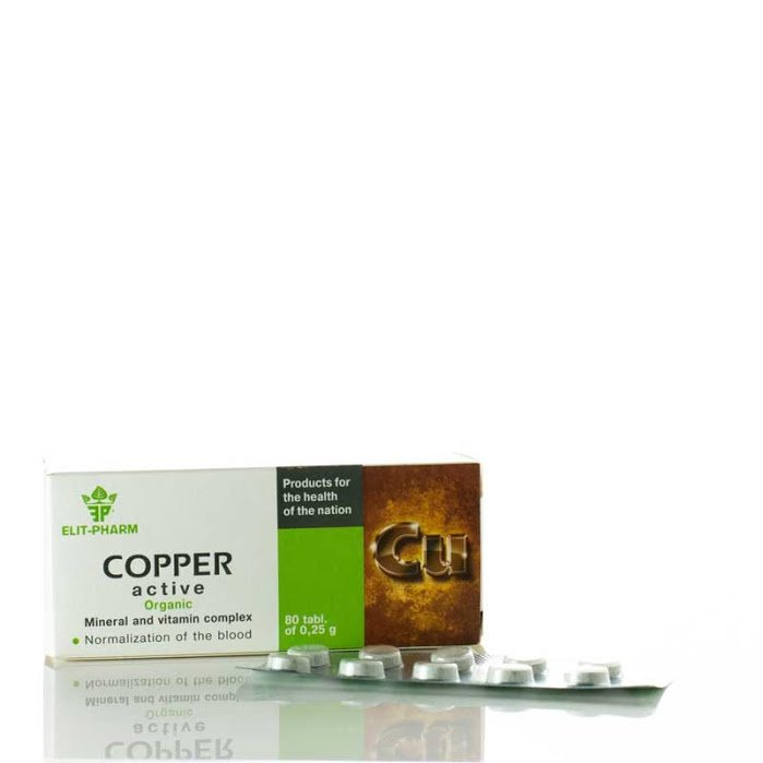 Copper, 80 Tablets