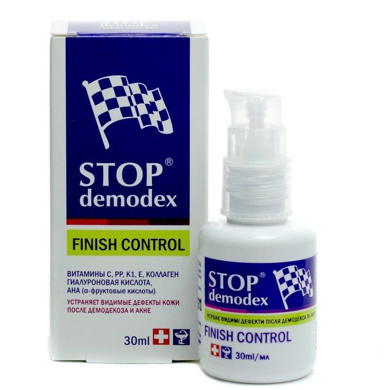 stop demodex finish gel