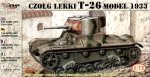 Mirage 72609 1/72 T-26 model 1933 light tank