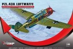 Mirage 481311 1/48 PZL.43A LUFTWAFFE 'German Version Mielec 1940'