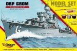 Mirage 840093 1/400 [MODEL SET]  ORP 'GROM' polish destroyer mk.38